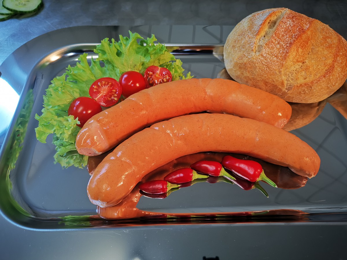 Kurze Bockwurst
